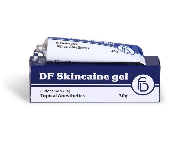 DF Skincaine gel (Lidocaine 9,6%) 30 gr.