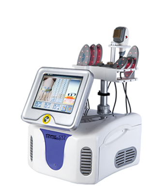 Fractional RF Lipo Laser Body Slimming Machine